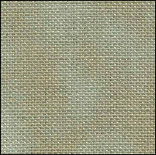 Fabric Flair Historic Green 28ct Linen,17x19