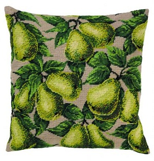 Pears pillow by Permin