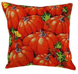 Pumpkin pillow by Permin