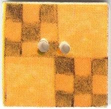 Apricot Nine Patch,87006-Jim Shore buttons