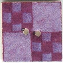 Blueberry Nine Patch-87008-Jim Shore buttons