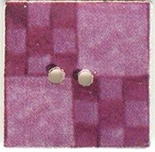 Plum Nine Patch-87009-Jim Shore buttons