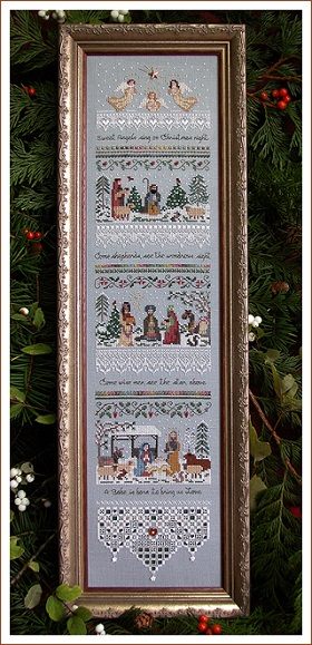 Heirloom Nativity by The Victoria Sampler