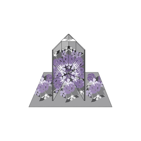 Marti Michell 8941 Folding Magic Mirror