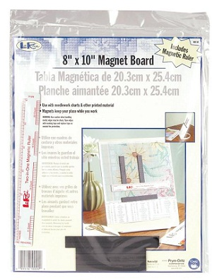 Metal magnet board 8 x10 by Lo Ran