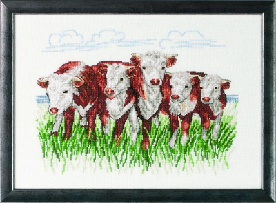 Hereford Cows by Permin