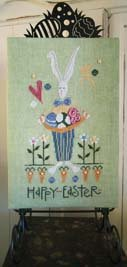Happy Easter Bunny by Samsarah Design Studio
