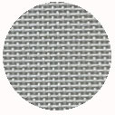 Pewter deluxe mono canvas, 18 ct, 20 x 18