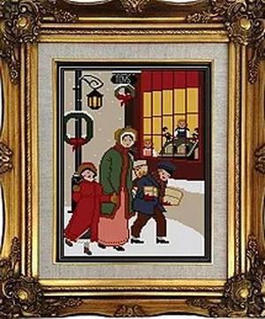 Twin Peak Primitives - Victorian Christmas Mini Series, Season Greetings 1892's Christmas