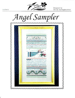 Angel Sampler by Amaryllis Artworks