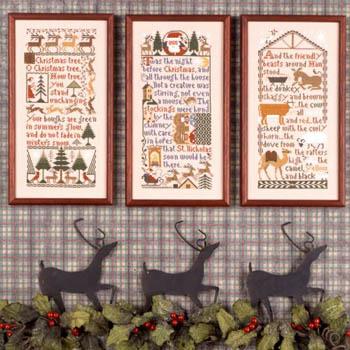 The Prairie Schooler Christmas Samplers