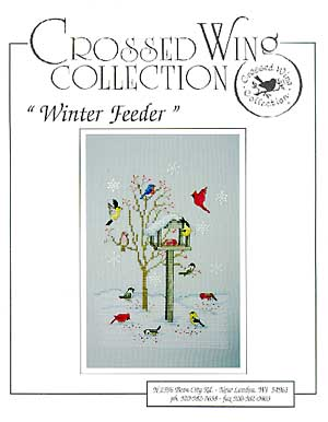 Crossed Wing Collection Winter Feeder