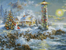 Lighthouse Christmas-9804-by Kustom Krafts