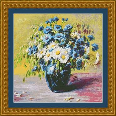 Blooms of Blue-9889- by Kustom Krafts