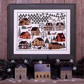 Christmas Village by The Prairie Schooler