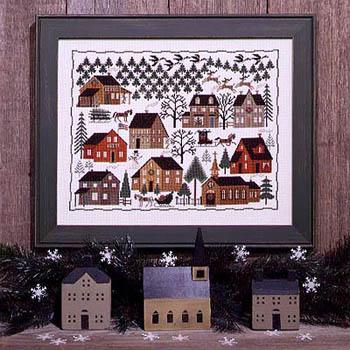 The Prairie Schooler Christmas Village