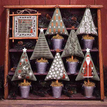 Christmas Trees by The Prairie Schooler