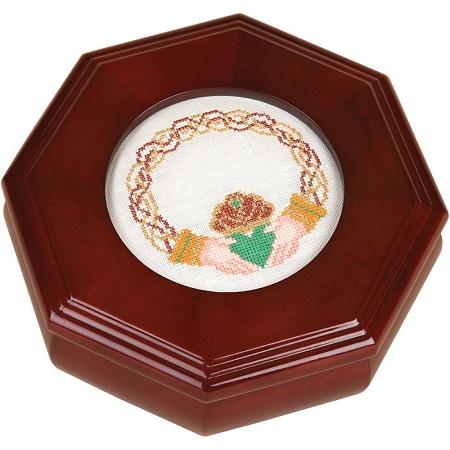 Sudberry House Mahogany Octagon Box 6X6X2.75, 99381