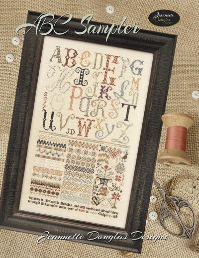 Jeannette Douglas Designs ABC sampler