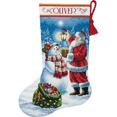 Holiday glow stocking,70-08952,Dimensions