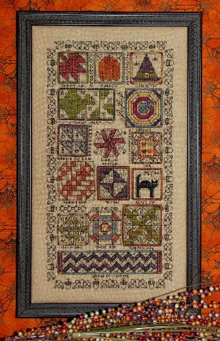 Halloween quilt sampler by Rosewood Manor