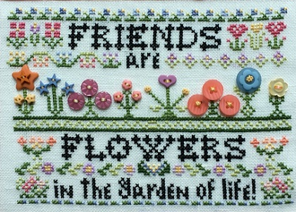 Friends are flowers by Rosewood Manor
