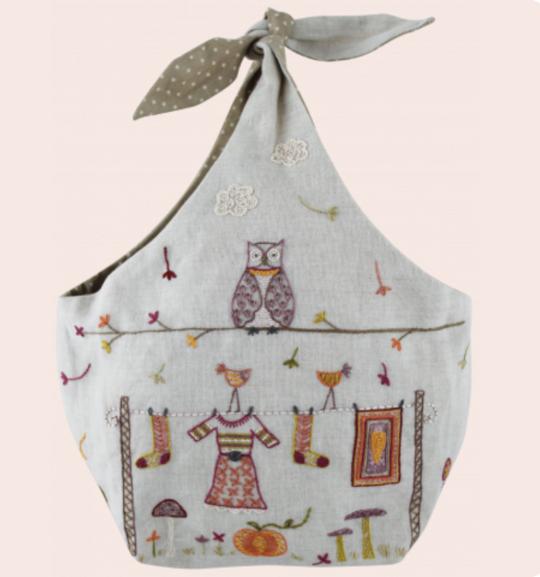 Un Chat Dans L'alguille AUTUMN tie-top bag kit