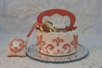 A Stitcher's Basket MDD-ASTB by Mani di Donna