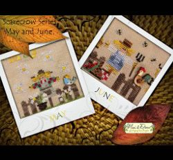 A Year with the Scarecrows - May & June MDD-SCMJ by Mani di Donna