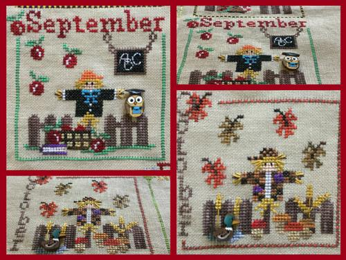 A Year with the Scarecrows - September & October MDD-SCSO by Mani di Donna