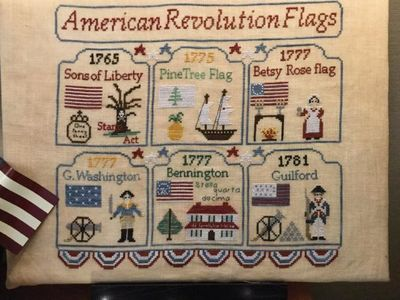 American Revolution Flags MDD-ARF by Mani di Donna