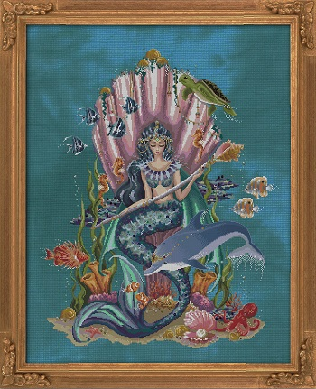 AMPHITRITE, QUEEN GODDESS OF THE SEA by Bella Filipina