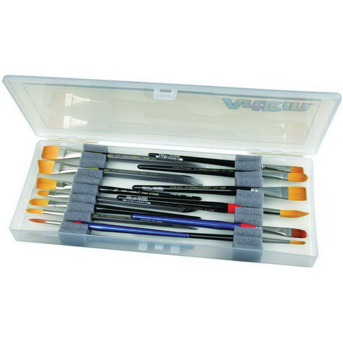 ArtBin Brush Box Translucent