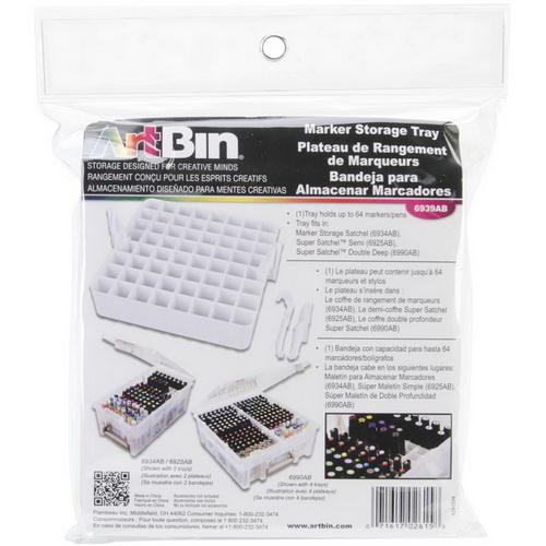 ArtBin Marker Tray White