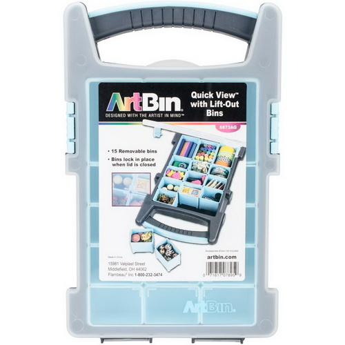 ArtBin Quick View Box W/15 Lift-Out Bins