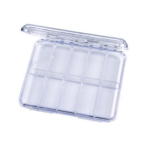 ArtBin Slim Line Box 10 Compartments 2/Pkg Clear