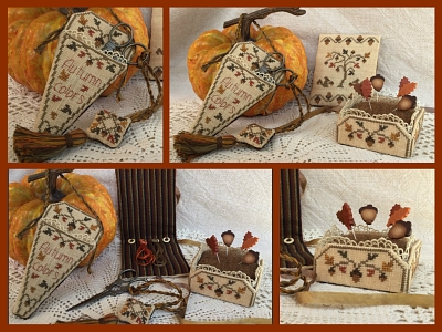 Autumn Colors Sewing Set MDD-ACSS by Mani di Donna