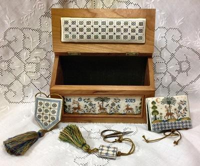 Giulia Punti Antici Azulejos Sewing Casket – A Portuguese Box