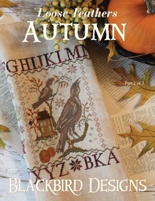 Blackbird Designs BD152 Autumn - Loose Feather Series