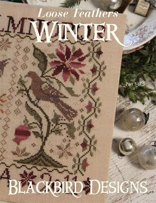 Blackbird Designs BD153 Winter - Loose Feather Series