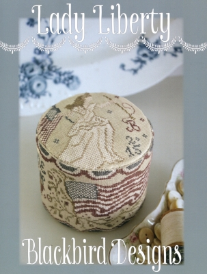 Lady Liberty Drumkeep pincushion by Blackbird Designs