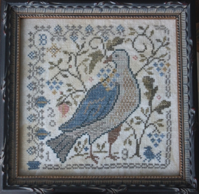 Blackbird Designs BD305 The Last Ripe Berries - Loose Feathers Series - For the Birds