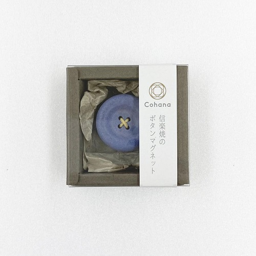 MAGNETIC BUTTON FROM COHANA-BLUE