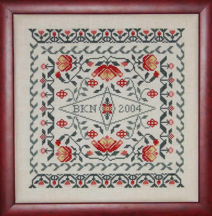 Blue Ribbon Designs Growth Too - A Floral Sampler