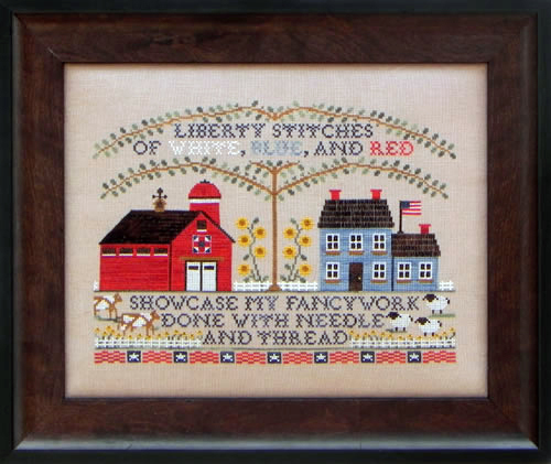 Blue Ribbon Designs Liberty Stitchery