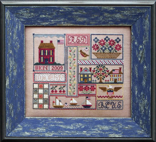 Blue Ribbon Designs Patriotic Patchwork