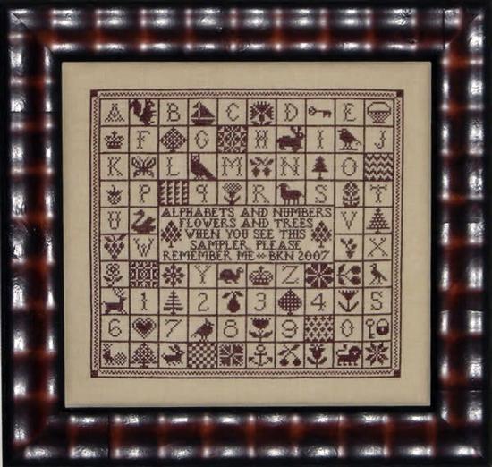 Blue Ribbon Designs A Sampler Squared