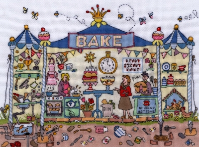 Bothy Threads BTXCT29 Bakery - Amanda Loverseed - Cut Thru'
