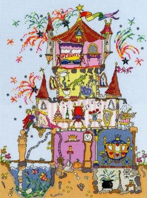 Bothy Threads BTXCT2 Princess Palace - Amanda Loverseed - Cut Thru'