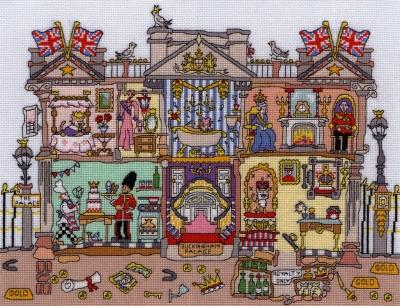 Bothy Threads BTXCT30 Buckingham Palace - Amanda Loverseed - Cut Thru'